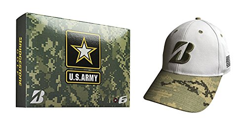 Bridgestone Golf 2015 36 Armee Bundle Pack 2015 E6 US Army Budle Pack mit Gratis US Army Cap (Cap Bridgestone)