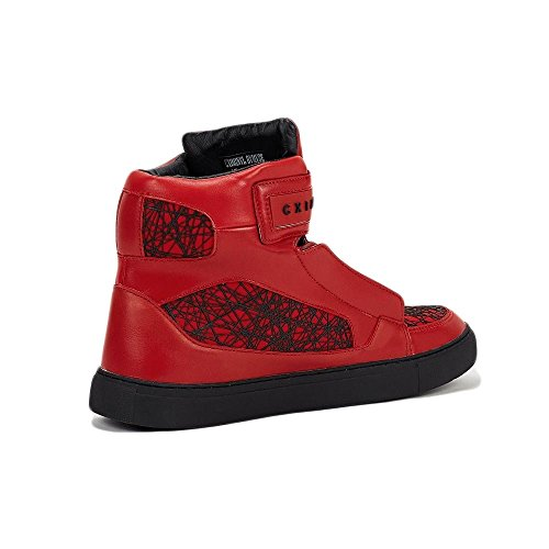 Criminal Damage Homme Chaussures / Baskets Atlantis Rouge - rouge