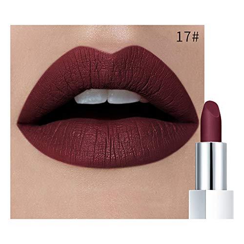 Jaminy Wasserdichte Langlebige Matte Lipgloss Lippenstift Kosmetik Make up Lippenstift Wasserdichtes...