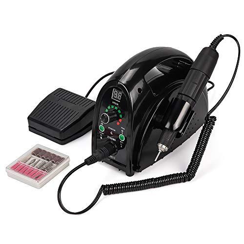 65W starke Nagelbohrer Maniküre Maschine Pediküre elektrische starke 35000 U/min Datei Bits Nägel Kunst Ausrüstung Nagelbohrmaschine