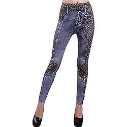 Inception Pro Infinite L1 - Leggings para Mujeres - Tipo de Jeans - Estampado - Leopardo - Talla única -