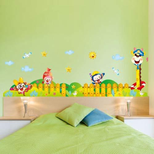 Freunde Sockel Wandaufkleber Für Kinderzimmer Schlafzimmer Badezimmer Wohnzimmer Home Wanddekor DIY Kunst Aufkleber Wandbild ()