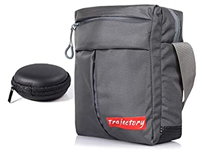Trajectory Polyester and Fabric Urban Unisex Sling Bag with Earphone Case