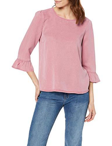Vero Moda VMLISSY 3/4 Sleeve Summer Top GA Blusa, Rosa Foxglove, M para Mujer