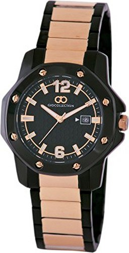 Gio Collection Analog Black Dial Men's Watch - G1004-66