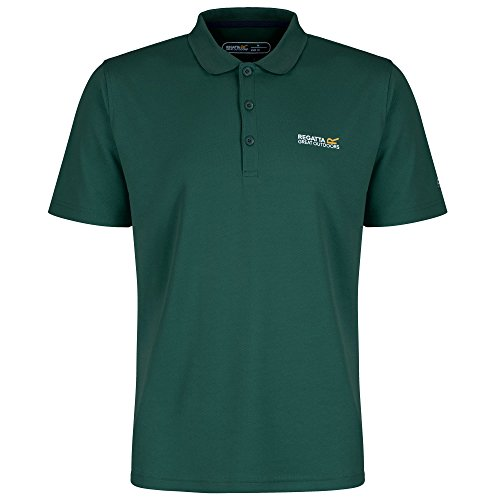 Regatta Maverik III Herren Polo Shirt dark grey