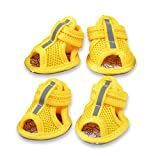 Zanderous Dog Shoes, pet Shoes, Breathable Shoes,Dog Shoes Small Puppy Anti-Slip Mesh Boots