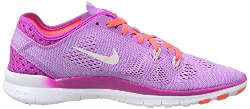 Nike Nike Free 5.0 TR Fit Damen Laufschuhe, Chaussures de course femme Violet (Fchs Glw/White-Fchs Flsh-Ht Lv 500)