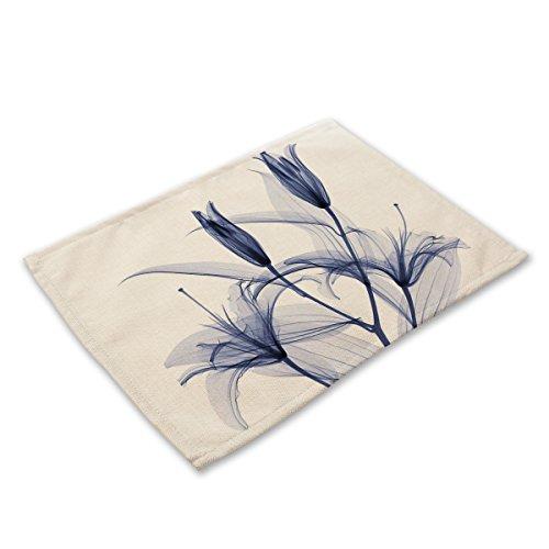 Planta de la serie de tela de lino de aislamiento de colchones pequeñ