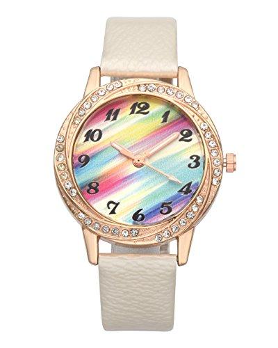 manifo Relojes Fashion Mujer Reloj De Pulsera Con Brillantes