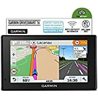 "Image of 'Garmin drivesmart 51 lmt-s Fixed 5 ""TFT Touch Screen 173.7 G Black Navigator – GPS Navigator (Southern Europe, 12.7 cm (5), 480 x 272 pixels, TFT, Horizontal, MicroSD (Transflash)) - Comparsion Tool"