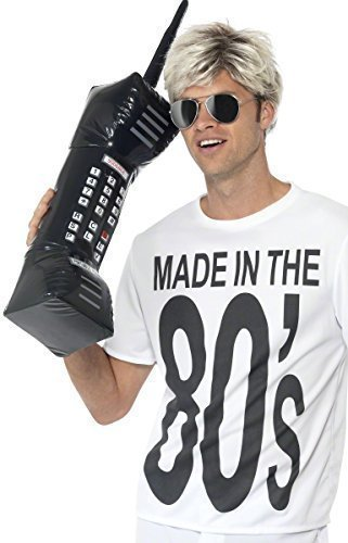 ... 80s Hip Hop Costume. Inflatable Blow Up 1980s 1990s Large Mobile Phone Fancy  Dress. 9cb13e83ea0