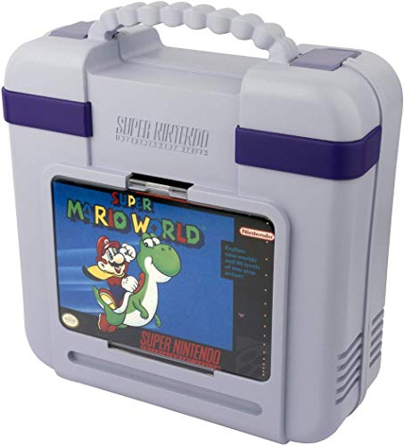 PDP SNES Classic Deluxe Tragetasche für die Super Nintendo Classic Konsole, Limited Edition