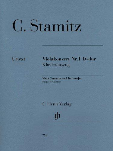 Violakonzert Nr. 1 D-dur. Viola, Klavier