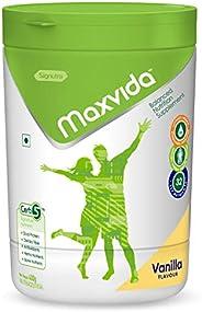 Maxvida Balanced Nutrition Supplement for Adults Jar - 400g (Vanilla)