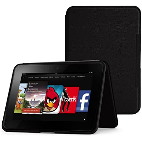 Amazon - Funda de cuero con soporte para Kindle Fire HD 8,9