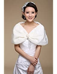 &huahua Boda nupcial vestido/lana mantón suave liso/moda/boda accesorios/caliente/capa , white