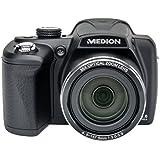 MEDION LIFE P44029 (MD 86929) Digitalkamera (20 Megapixel, 35-fach opt. Zoom, 7,62 cm (3 Zoll) Display, bildstabilisiert) schwarz