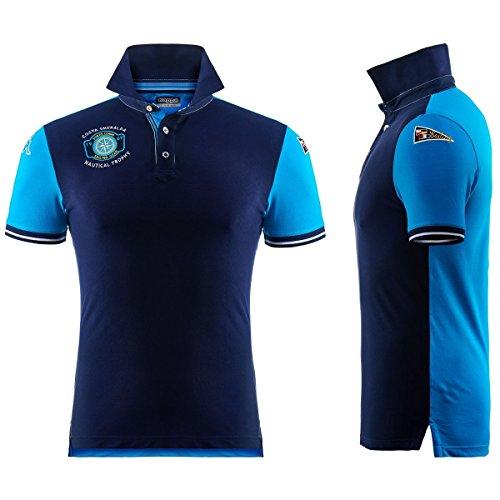 Polo Shirt - Porto Cervo Polo BLUEMARINE-TURQUOISE