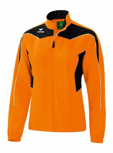 erima Damen Präsentationsjacke Shooter, orange/schwarz/weiß, 42, 101135