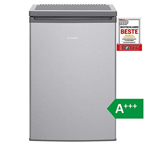Bomann KS 2198 Kühlschrank/ A+++/ 84.8 cm/ 90 kWh/Jahr/ 97 L Kühlteil /12 Gefrierteil/ justierbare Standfüße