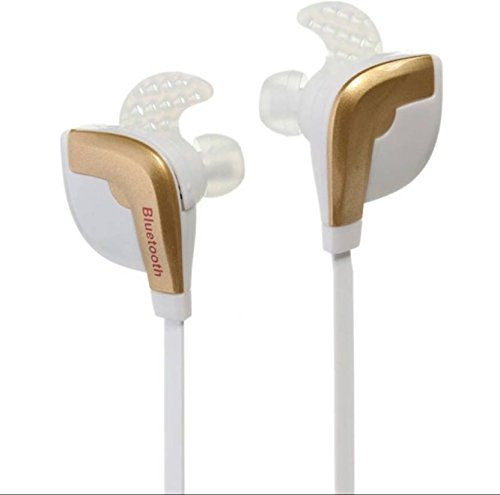 SHOPY UNLIMITED Stereo Bluetooth Headphone Headset STN-840 Outdoor Sport Earphone Wireless Earbuds For iPhone Samsung Xiaomi HTC LG,Golden  available at amazon for Rs.1499