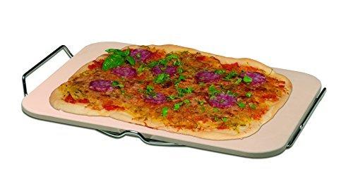 Pizza-Backstein mit Serviergestell