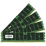 Crucial 64GB 16 x 4GB DDR ECC UDIMM 4-2400 2400MHz 64GB DDR4 ECC Module de clé (DDR4 PC/server 288 pin-DIMM 2048 x 72 x M 4 16GB)