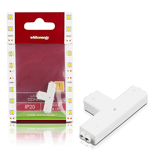 Whitenergy connector for LED strips, 3x 2pin female (1 pcs)
