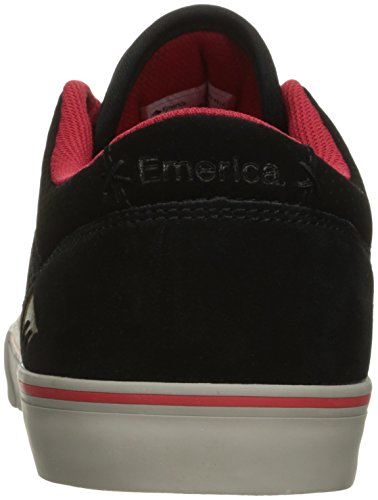 Rollers chuh Emerica The Herman g6 Vulc Skateschuhe Black/Red/Grey