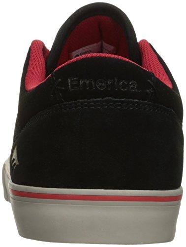 Rollers chuh Emerica The Herman g6Vulc Skateschuhe Black/Red/Grey