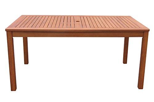 Gartenmöbel 17tlg mit 200cm Tisch Terrassenmöbel Santos Rubinrot - 3