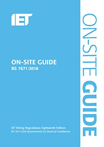 On-site Guide BS 7671-2018