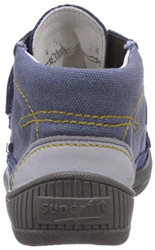 Superfit  COOLY SURROUND, {Chaussures premiers pas pour bébé (garçon) Bleu - Blau (WATER KOMBI 88)