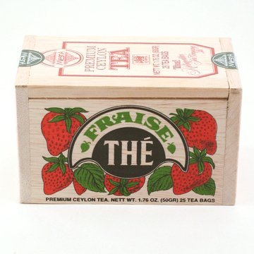Metropolitan Tea Strawberry Tea Box Of 25 by Metropolitan Tea Company