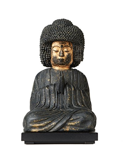 isumu TanaCOCORO palmsize gokosiyui Amida (Amitabha) japonés Zen Budista Estatua Buda Budismo Figura Religiosa Yoga Mindfulness Morita tc3525
