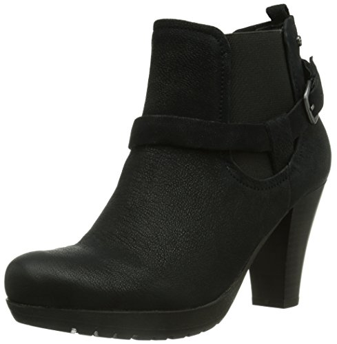 Marc Shoes Elba, Stivaletti Beatles Donna, Nero (Schwarz (100 black)), 40