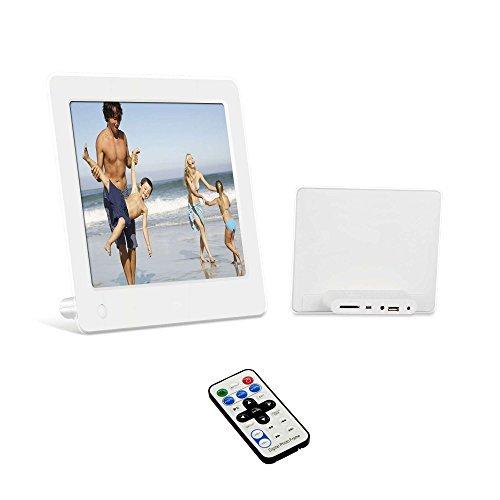 """20,32cm (8"""" Zoll) Digitaler Bilderrahmen - Bilder, Videos und Musik in einem! Digital Panel mit 1024x768 Pixel Auflösung!"""