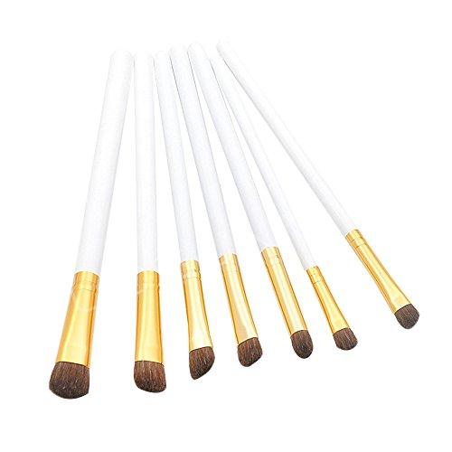 Vi.yo 7 Pcs maquillage pinceau set fard à paupières sourcils pinceaux outil pour les yeux (style 4)