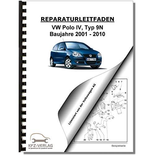 VW Polo 4, Typ 9N (01-10) 4-Zyl. 1,4l Benzinmotor 75-100 PS Reparaturanleitung - 4 Armlehnen