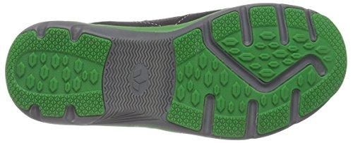 Lico Palmer V, Baskets Basses garçon Noir - Schwarz (schwarz/grün)