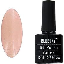 Bluesky Shellac UV Gel Sparkle Nail Pomelo polaco 10 ml