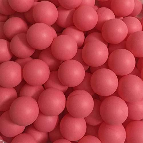 Freyamall 150 Stücke 40mm Premium Kunststoff Tischtennisbälle, Erweiterte Ausbildung Ping Pong Bälle Lotterie Bälle (Praxis ping-Pong Ball), Rot