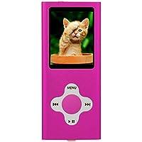 Es Traders 8GB 4. Generation Musik/Video/Spiele MP3-Player mit 1,8Zoll Display–Pink