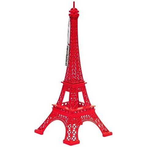 Merci Gustave U-3-910 - Torre Eiffel in miniatura decorativa, in zinco