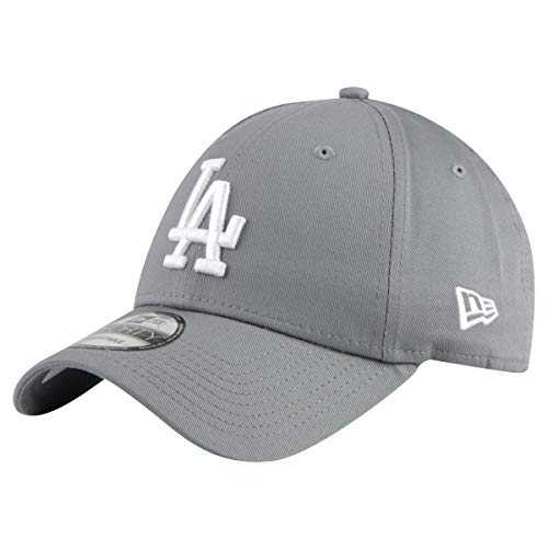 New Era 9Forty Unisex Damen Herren MLB League Essential/Brand Logo 940 Adjustable Cap Strapback Cap Baseball Cap mit 7kmh Aufkleber Grau