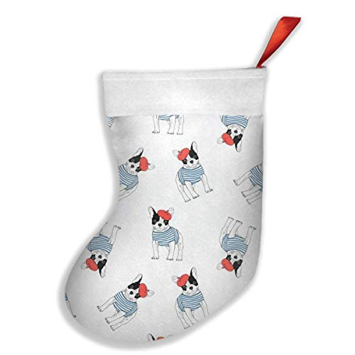 Xdevrbk Tooth Fabric Way of The Ninja Tooth Christmas Stockings Holders,Santa Snowman Reindeer Socks Decoration with Hang Loops