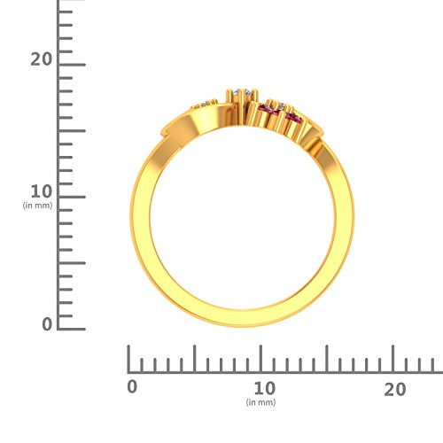 P.N.Gadgil Jewellers 22KT Yellow Gold Ring for Women
