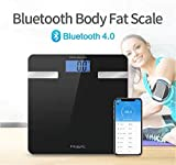 Fitastic Bluetooth Smart Scale Wireless Mobile sync includes BMI,BMR,DONE DENSITY,MUSCLE DENSITY,WATER RATIO…