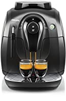 HD8651/01 MACCH CAFFE AUT SERIE 2000 BLACK, 180GR CAFFE, MA